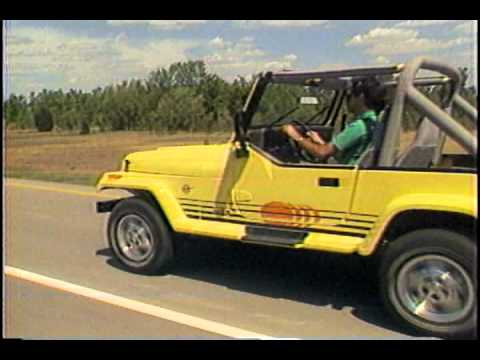 1989 Jeep Wrangler Islander Youtube
