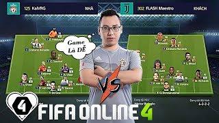 FIFA ONLINE 4 | Nguyễn Hoàng Hiệp Vs Trần Duy: 5 BÀN NHƯ 1 Của Maestro | SGFC CUP #1 Vòng 1/32