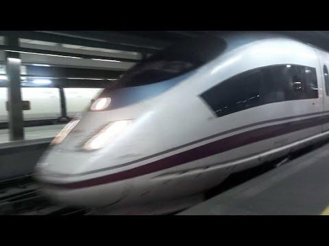 Ave AVANT Madrid Barcelona Girona Figueres. Barcelona Sants. Velaro. Siemens. Renfe 103. http://videotren.com/ - http://www.youtube.com/vpart - http://www.yo...