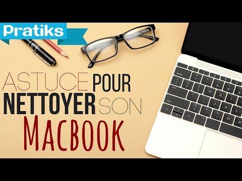 comment laver écran macbook pro