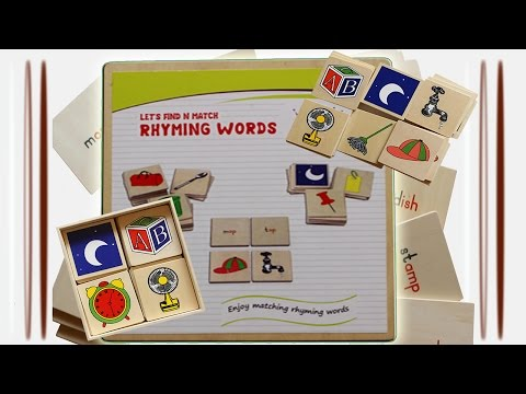 RHYMING WORDS - MIND MAKER ALPHABETS FOR KIDS