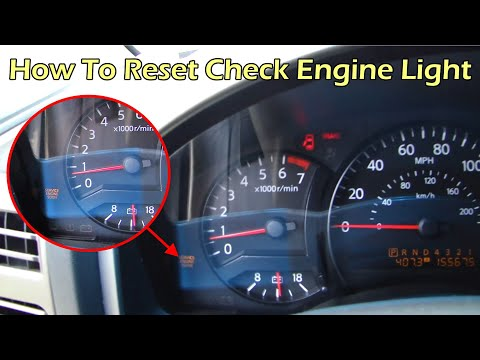Reset Check Engine Light with ELM327 OBD reader and Torque program - Nissan Titan