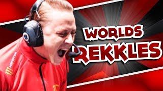 REKKLES CHEERS & TSM TEARS | WORLDS FUN/FAIL MOMENTS - League Of Legends