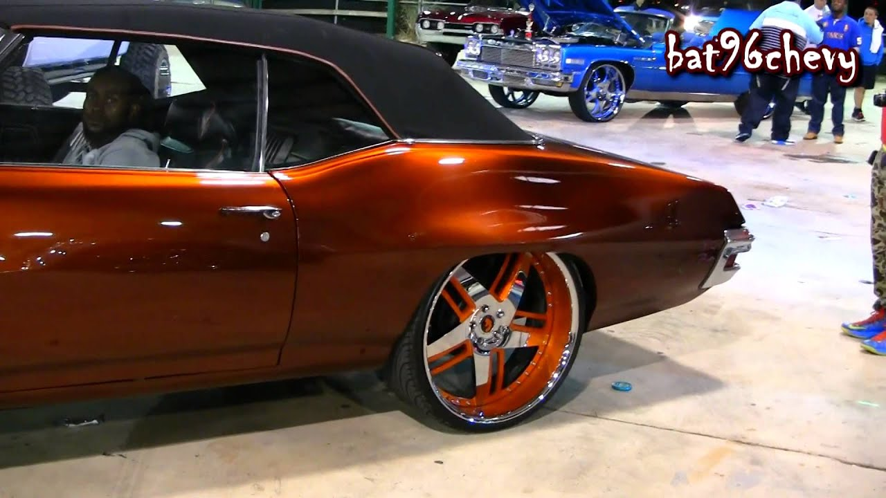 Candy Root Beer 1971 Pontiac Lemans On 24 Quot Forgiatos