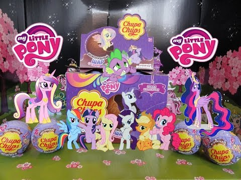 My Little Pony, Chupa Chups Surprise( Май Литл Пони, шоколадный шар Чупа Чупс) Вся коллекция!