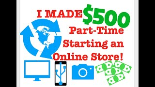 I MADE $500 STARTING AN Amazon FBA STORE! Retail Arbitrage For Beginners! FREE INVENTORY?!?