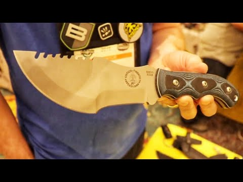 TOPS Tom BrownTracker in S35VN   Special Edition Tracker and the History of the Knife