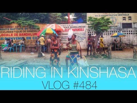 vlog #484 - Riding in Kinshasa