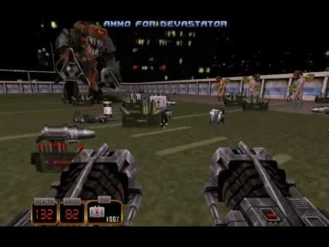 Duke Nukem 3D - 23 Shrapnel City - Stadium