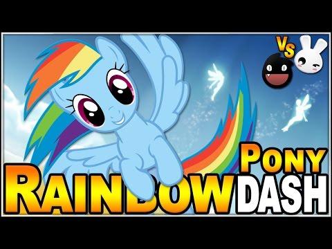 Rainbow Pony Dash | Juegos Gratis de Navegador | Dsimphony VS Naishys