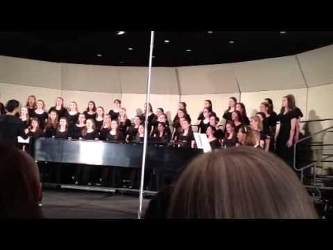 """Keller High School """"Chanteurs"""" Varsity Treble Choir perform"""