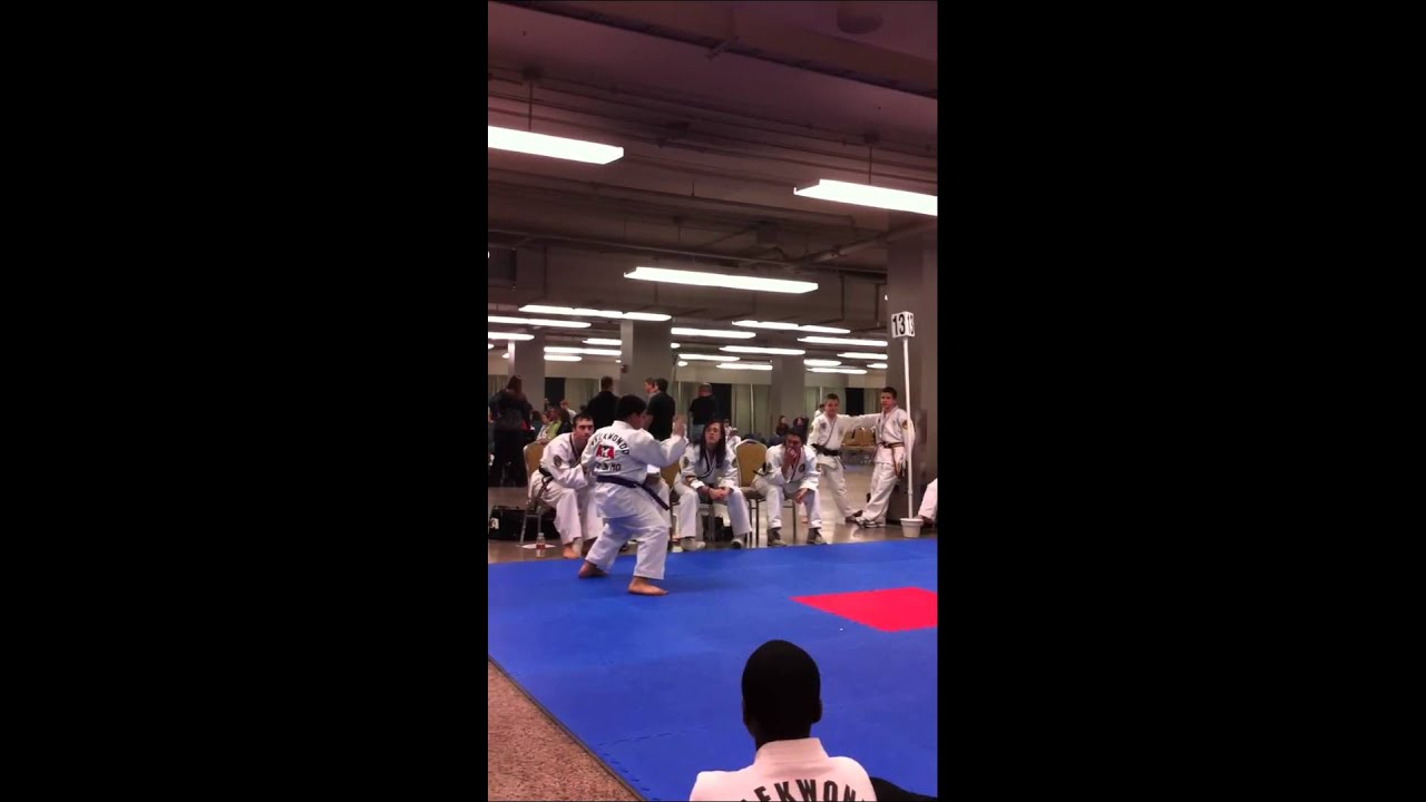 Taekwondo Purple Belt Form