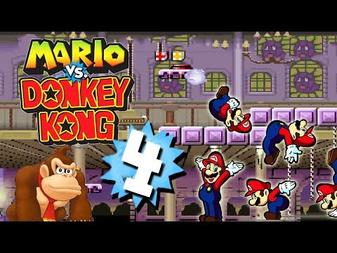 Let's Play Mario vs. Donkey Kong Part 4: Mama oder Papa?