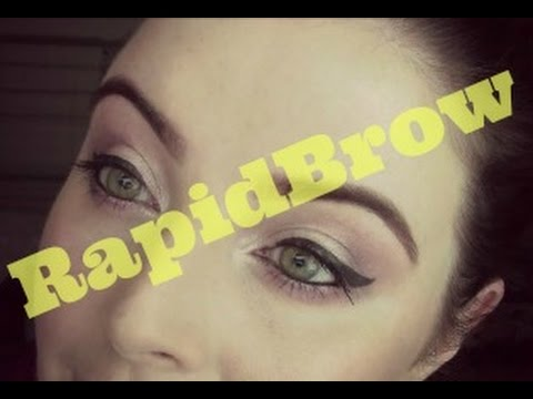 Does RAPIDBROW really make brows grow? BEFORE & AFTER