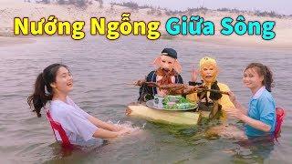 Ngỗng Hí Thủy Nướng Giữa Sông Mừng Ngày 8/3 Cùng Tiểu Yêu Xinh Đẹp | Ngộ Không Bát Giới TV
