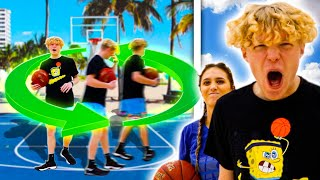 DIZZY 1v1 Basketball VS My Girlfriend!