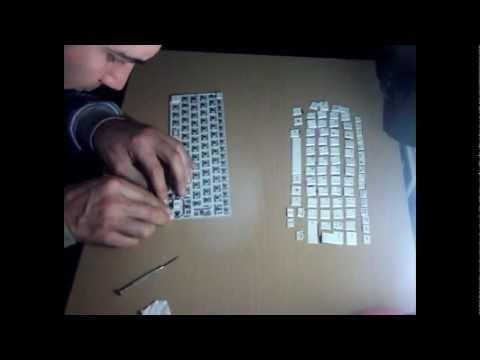 Desmontar para limpiar teclado Acer Aspire One