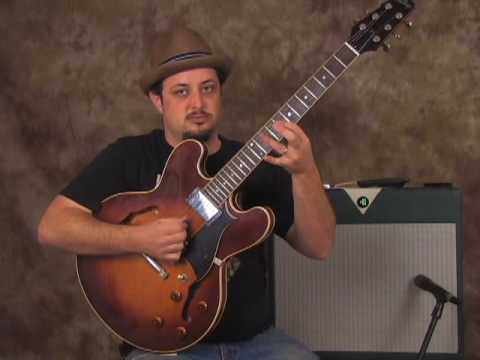 How To Play Lead Electric Blues -  Guitar Solo Skills  And Cool Practice Devices -  Lesson Part 1
