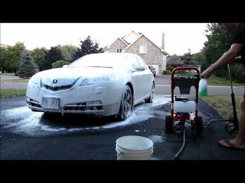 8 minute car wash with Foam Cannon / Lance