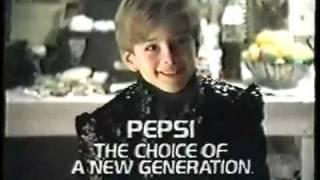 Pepsi Commercial - (Kid In Michael Jackson's Dressing Room) 1987