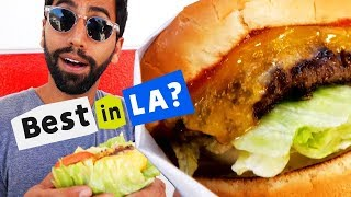 Trying the Best Burgers in Los Angeles