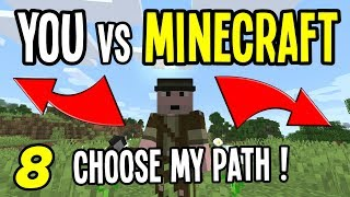 YOU vs MINECRAFT - DAY 8 | You Chose: Keep the Phantoms! (Minecraft 1.14 Hardcore Survival)