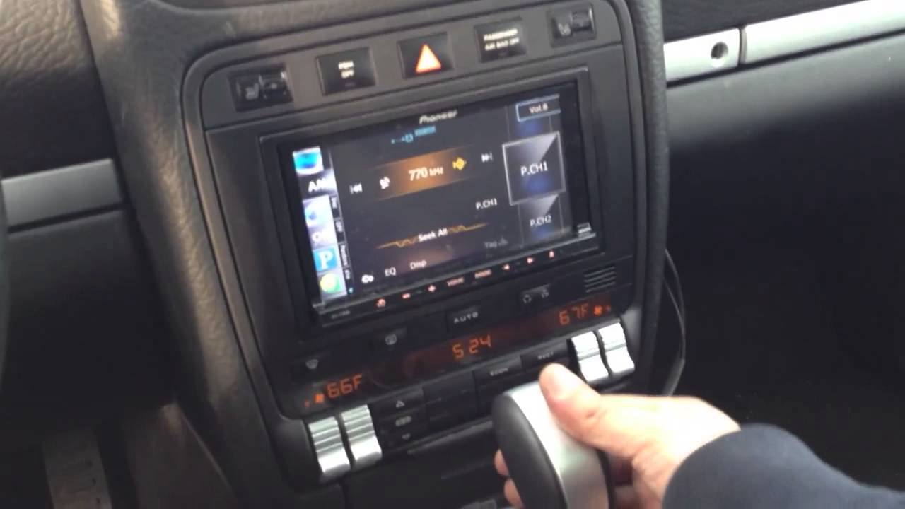 Porsche Cayenne With Pioneer Avic Z140bt Youtube