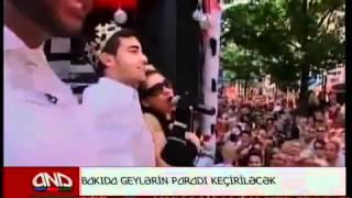 Ролик: Гей парад в Баку 2012 гей парад в азербайджане 2012.