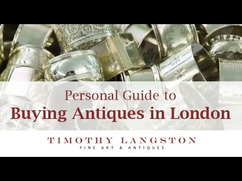 Where to Buy Antiques in London - a personal guide with shopping tips