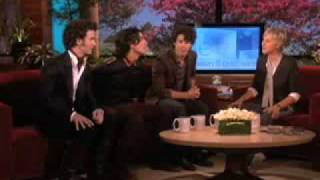 The Jonas Brothers Train for a Dance-Off! on Ellen