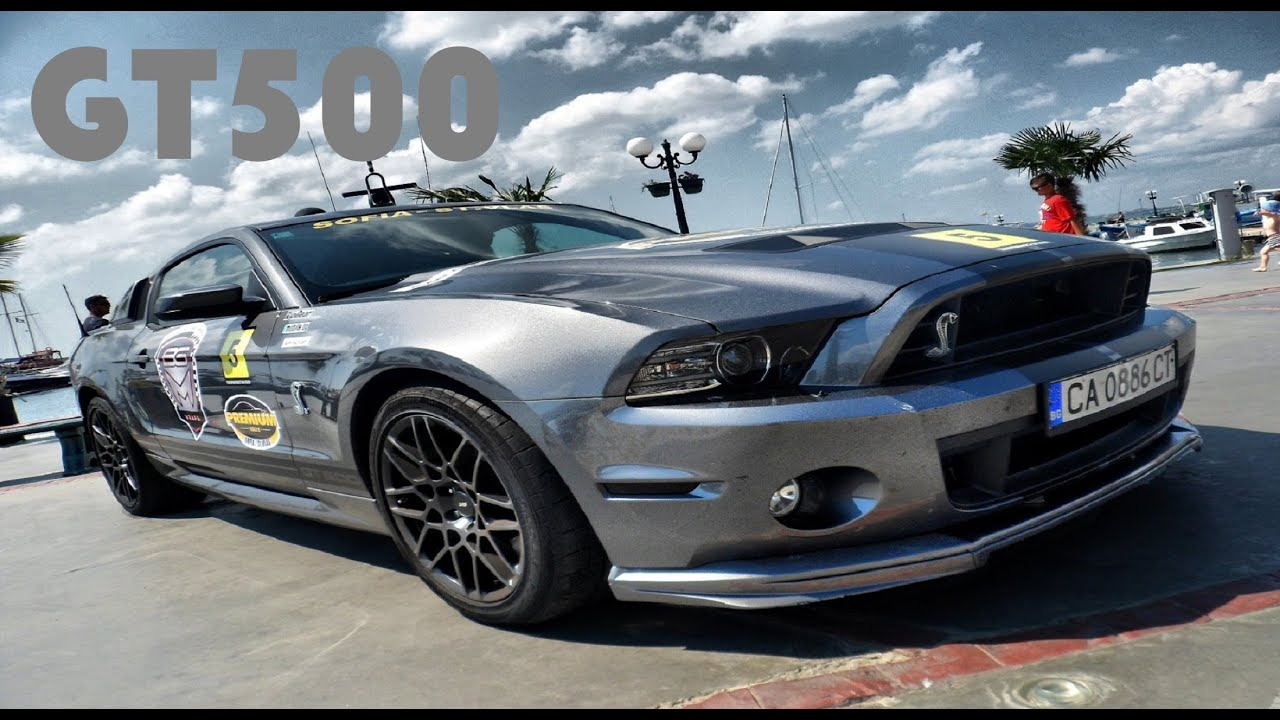 Ford Mustang Shelby Gt500 W Custom Exhaust Brutal Sound