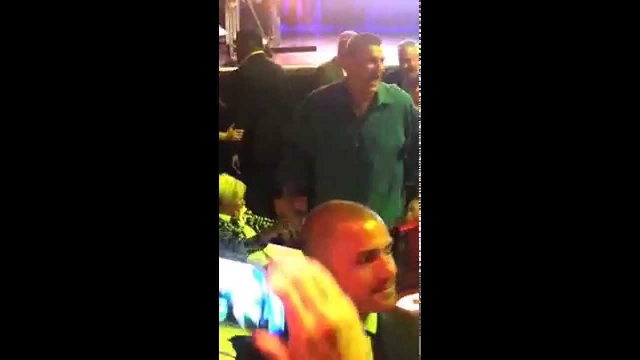 Gronk at the Globies 10.06.15