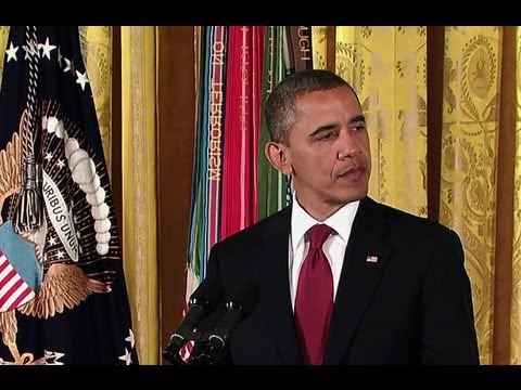 President Obama Awards the Medal of Honor to Specialist Leslie H. Sabo, Jr.