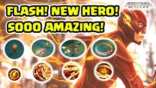 Bocoran Superhero Flash! Super Amazing! Antimainstream Bangets! - Arena of Valor AOV