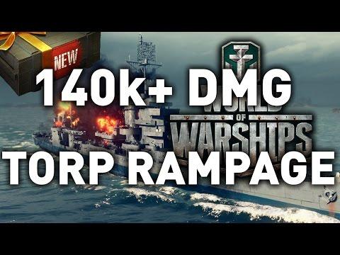 World of Warships || 140,000+ Torpedo RAMPAGE