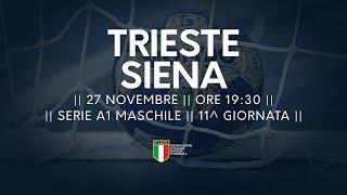 Serie A1M [11^]: Trieste - Siena 29-30
