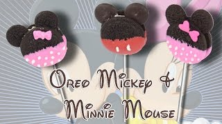 How to Make Mickey & Minnie Mouse Cookies Pop/Lollipops - Easy and Quick