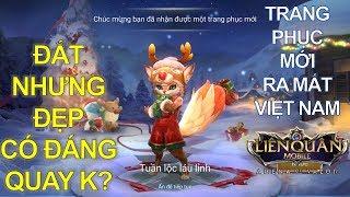 Trang phục mới ra mắt Việt Nam: FENNIK Tuần lộc láu lỉnh ở vòng quay Giáng Sinh [Quay và Test luôn]