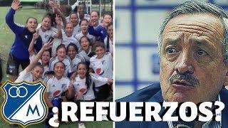 💪 ¿Enrique Camacho Habla Sobre Los Refuerzos De Millonarios? Listo Equipo Femenino Del Embajador 💪