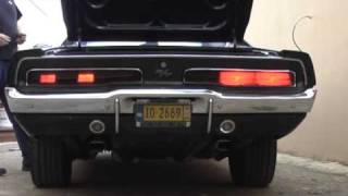69 Charger R/T LED Tail Lights vs. Stock