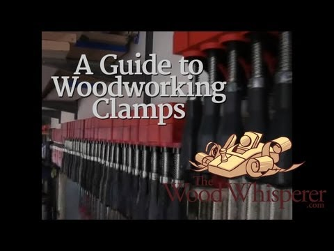 12 - A Guide to Woodworking Clamps