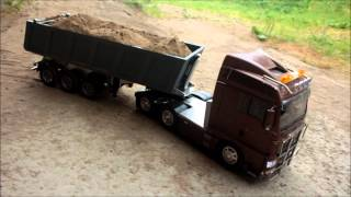 2013 07 28 RC Tamiya MAN with Carson trailer