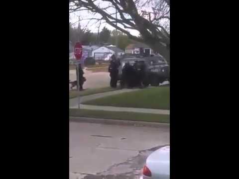 Wisconsin cops shoot dog
