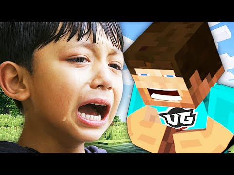 Griefing a KID ADMIN on Minecraft Minecraft Trolling