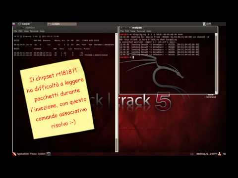 Crack Wpa key whit aircrack on backtrack 5 and AWUS036H 1000mw