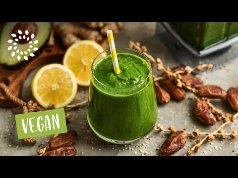 Ananas Grünkohl Protein Shake (Rezept vom Zentrum der Gesundheit)