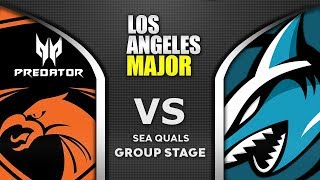 TNC vs Adroit ESL One Los Angeles Major 2020 SEA Highlights Dota 2