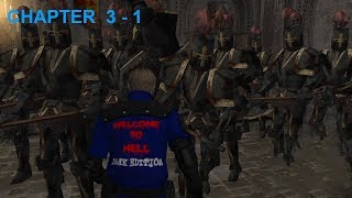 "Resident Evil 4 - Story (Welcome To Hell - ""Dark Edition"") Mode - Chapter 3-1 (New Game - Pro) HQ"