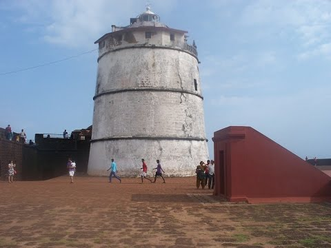 Fort Aguada And Its Lighthouse - Only Unconquered Portuguese Fort - Goa Tourism Video