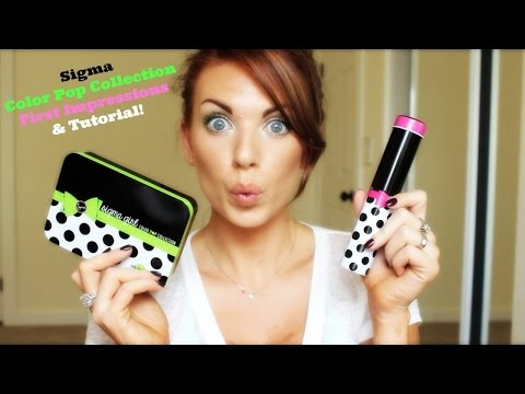 ❤ NEW Sigma Color Pop First Impression & Tutorial ❤